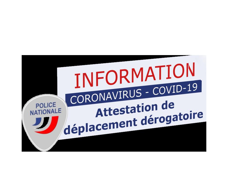 Read more about the article Covid-19 – 2ème Confinement – Interdiction de déplacements – Dérogations – JUSTIFICATIFS et ATTESTATIONS pour se déplacer